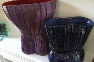 Corset Vase Form